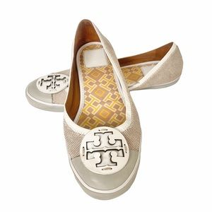 Tory Burch Channing Canvas Sneaker Flats